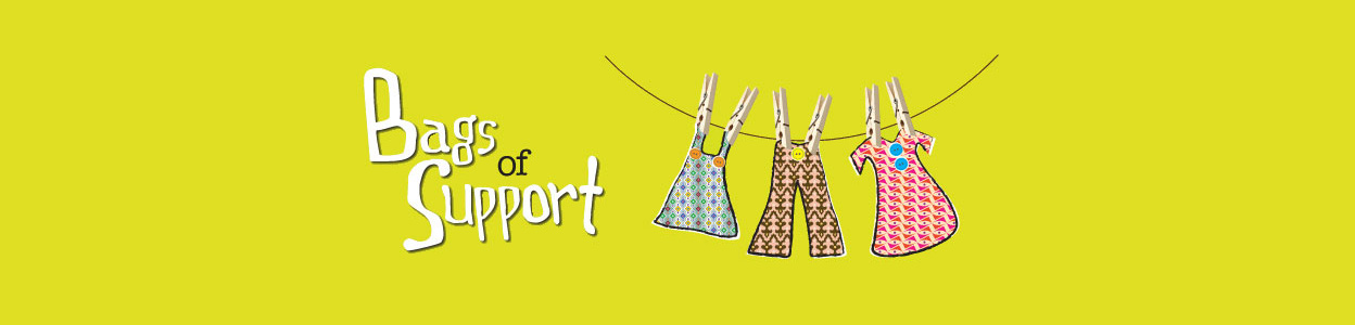 Bags of Support   Paying charities and schools, by